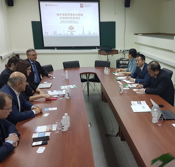 Representatives of Chinese companies visited Zelenograd